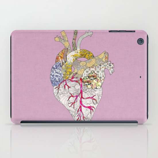 my heart is real iPad Case
