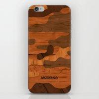 Modern Woodgrain Camoufl… iPhone & iPod Skin