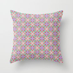 Watercolor Boho Dash 2 Throw Pillow