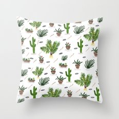 PLANTS ARE MY FRIENDS Throw Pillow