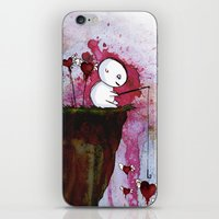 Fishing for hearts iPhone & iPod Skin