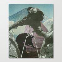 Mount Zen Canvas Print