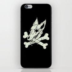 Dog & Crossbones iPhone & iPod Skin