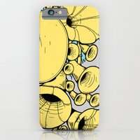 iPhone & iPod Case featuring Gramophone DJ by micheleficeli