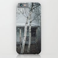 iPhone & iPod Case featuring Falling on the Cabin by Shaun Lowe