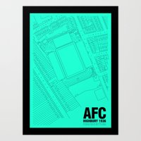 Highbury - It's Arsenal Around Here Art Print