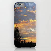 iPhone & iPod Case featuring Fiery Sunset by lokiandmephotography