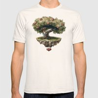 Seed of Love Mens Fitted Tee Natural SMALL