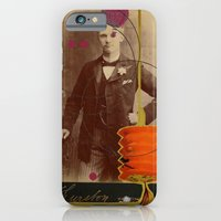 iPhone & iPod Case featuring victorian gentleman  by teresaferreira
