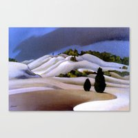 The Weather Breaks, Bay … Canvas Print
