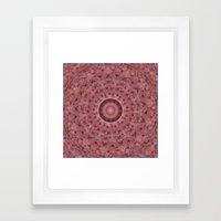 Test for pillow Framed Art Print