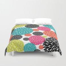 Tropical Flowers Duvet Cover