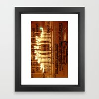 Psalm 145:16 Framed Art Print
