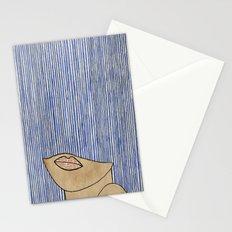Rain Girl Stationery Cards