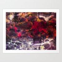 Encaustic I  /  Encausti… Art Print