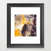 Color Commentary #16: Pu… Framed Art Print