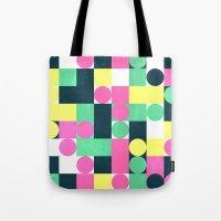 circle square Tote Bag