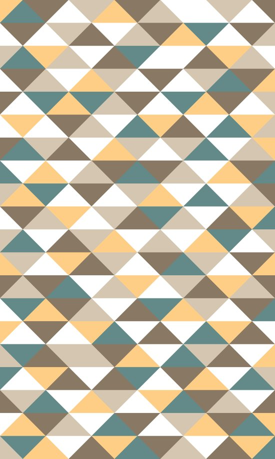 Triangle Pattern #2 Art Print
