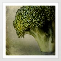 Broccoli - A Portrait Art Print