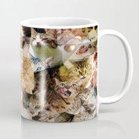Cat Kaleidoscope Mug