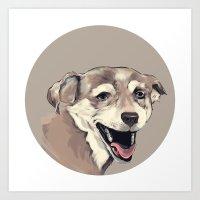 Smile Art Print