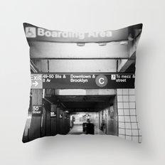 Brooklyn & Uptown Throw Pillow