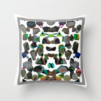 building site Throw Pillow