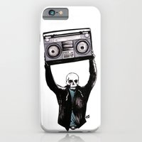 iPhone & iPod Case featuring Boombox by Zombie Rust