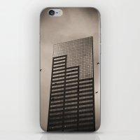 Ravens, Clouded Sky iPhone & iPod Skin