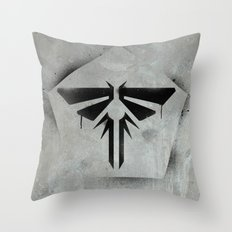 When you're lost in the darkness, look for the light. Throw Pillow