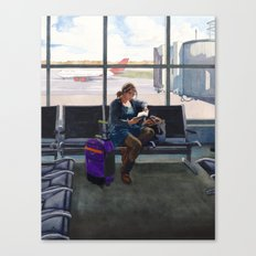 Departure Canvas Print