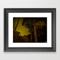 Blackened October Sunfal… Framed Art Print