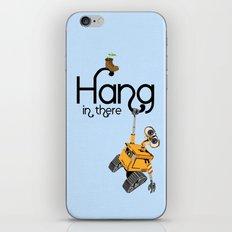 Pixar/Disney Wall-e Hang in There iPhone & iPod Skin