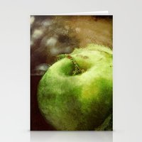 apple Stationery Cards featuring Apple  by Bella Blue Photography