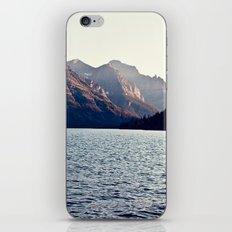 Blue Mountain Lake iPhone & iPod Skin