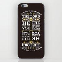 Psalm 37:4 iPhone & iPod Skin