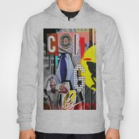 Collage is more than just cutting and sticking. Hoody