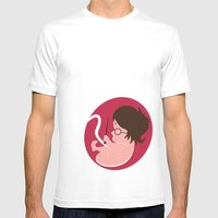 Baby Harry Mens Fitted Tee White SMALL