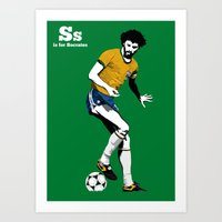 S is for Socrates Art Print