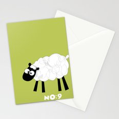 Sheep Number 9.... Stationery Cards
