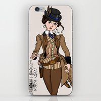 Evelyn Hayes iPhone & iPod Skin