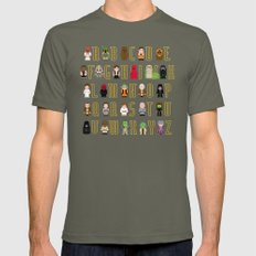 St_ar Wars Alphabet 3 Mens Fitted Tee Lieutenant SMALL