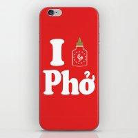 I Heart Pho iPhone & iPod Skin