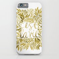 That's Life – Gold On … iPhone 6 Slim Case