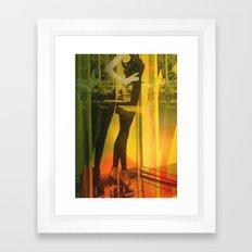 Sweet Shopping Framed Art Print