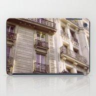 Parisian Architecture iPad Case
