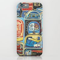 iPhone & iPod Case featuring Démon 832 by Exit Man