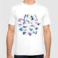 Fistycuffs Mens Fitted Tee White SMALL