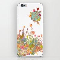 cactus garden iPhone & iPod Skin