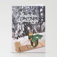 Sleigh Ride Through The … Stationery Cards